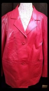 Maggie Barns leather jacket
